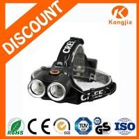 XML T6 Emergency Rechargeable Ultra Bright Aluminium LED Running Bike Light Headlamp Head Light to Wear