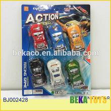 coche de juguete pequeña pintura plástico tire mini coche de carreras