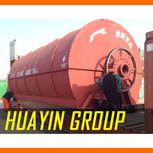 City garbage recycle machine , city waste recycling machine , waste to oil machine