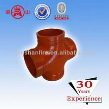 the red pipe cross accessories used in pipelinking system