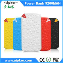 2014 new design mobile portable 5200mah power bank