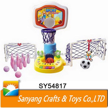 musical sports multi game table bowling football basketball table min game
