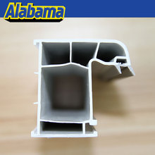 required color building material timber effect pvc profiles for window