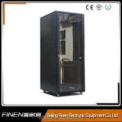 19 inch floor network cabinet width 800mm with fans cable manager and shelf