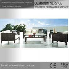Durable best selling import rattan outdoor furniture