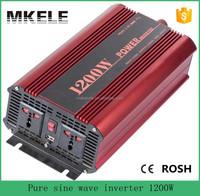 MKP1200-121R 1200 watt power inverter 12v to 110v portable inverters,12v power electric power converter