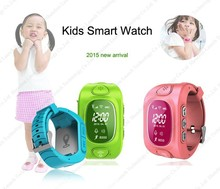 cheap 2 way communication with online tracking platform gps kids tracker watch