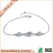 Cheap 925 sterling silver bracelets pure silver jewelry bracelets