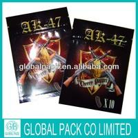 AK-47 10g herbal-incense bag/ak-47 wholesale spice potpourri bag