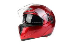 best selling flip up motorcycle helmet with dot standard HD-701