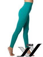 China wholesale women cotton spandex high waist leggings