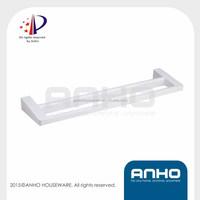 ANHO Patent plastic bathroom accessories towel rail, double towel bars, Racks shelfs