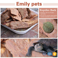 China Reptiles Pine Wood Bark Reptile Products