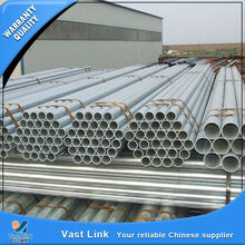 Hot selling thin wall galvanized steel 6 inch pipe
