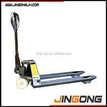 Stainless Steel Pallet Truck/stainless pallet jack with CE stainless hand pallet jack