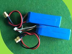 Small fpv lipo battery 11.1v 1800mah 60C 3S rc airplane lipo battery pack