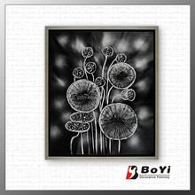 Abstract Flower Painting/Abstract Oil Painting Flower/ Abstract Flower Pictures