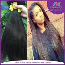 20 Inch Cheap Remy Hair Bulk Virgin Malaysian Straight Hair Wholesale Wood Comb