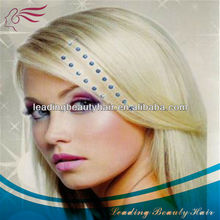 Most popular and bright cheap Shine crystal hair extension
