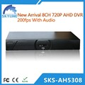 8ch dvr full hd com autônomo h 264 rede dvr software