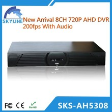 8ch dvr full hd with standalone h 264 network dvr software