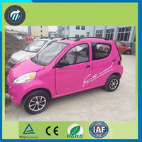 Electric car sedan 4x4 2 seats mini electric patrol car