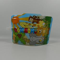 Qingdao Juice plastic bag/liquid packaging plastic bag/reusable juice spout pouch