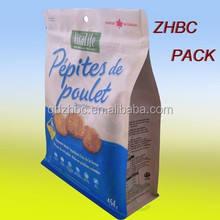 stand up pouches with zipper for pet food