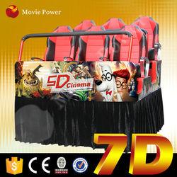Investor's favourite project amusement equipment manufacturer 5d 7d 9d cinema t