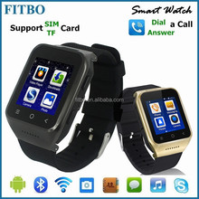 Wearable WIFI Bluetooth 5.0MP camera dual sim watch phone waterproof