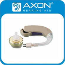 2015 AXON Wired low price Hearing Aid Behind Ears High Quality Deaf Aid F-137