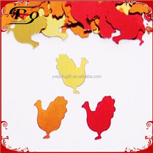 party favors decoration turkey table confetti