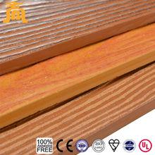 Imitation Wood Grain Fiber Cement Lap Siding Exterior Wall Plank