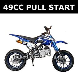 Pull start engine gas pocket bikes,motorcycle 49cc, kick start moto