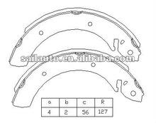 auto brake shoe SAMPLE 819
