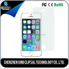 High transparent clear screen protector, hot protect film, tempered glass screen protector for iphone 5