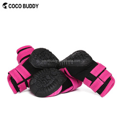 Cute New Neoprene pet dog rainy boots shoes waterproof