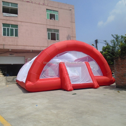 2015 hot funny mini inflatable soccer field