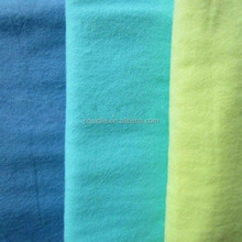 100%cotton flannel fabric 20s*10s 40*42 24*13 42*44 one and two side raised brushed