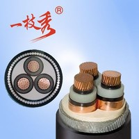 LV/MV XLPE insulated PVC sheathe Armored or unarmored power cable 70mm single core
