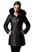 Goose Down Jacket Winter Coat Hooded Outdoor Jacket