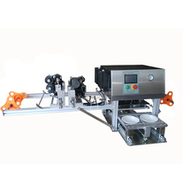 Desktop automatic coding and sealing machine/rice trays sealer/cups sealer