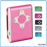 Mini Clip Colorful Fancy MP3 Player