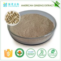 100% pure powder form American ginseng extract