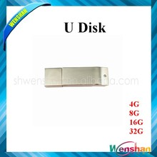 Cheapest rectangle metal USB flash drive gift with best price