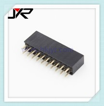 PCB Connector Type and PCB Application female headers 2x20 pin 2mm double row female pin header surface mount female connector