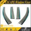 PC Car Rain Visor Vent Door Visor for FORD ESCAPE 2013 4pcs/set