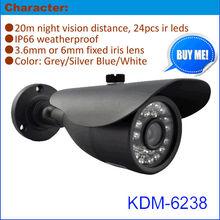 Modern 700TVL CCTV Video Camera with IP65 Weatherproof