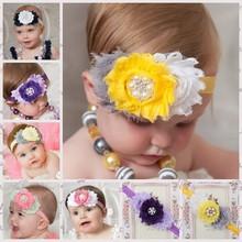 fashion hair band for girls pearl make baby hair bands baby hair headbands