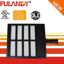 UL & DLC listed LED shoebox light 300w 1000w 5 years warranty street wallpack qualified retrofit